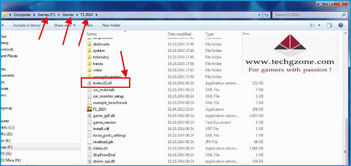 The binkw32.dll file is installed in the windows directory что делать